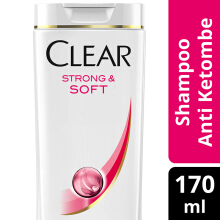 CLEAR Shampoo Strong & Soft 170ml