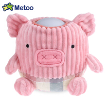 METOO Home Bedside Plush Pat Nightlight for Children(Pink Sheep)