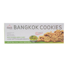 BANGKOK COOKIES Rice Cookies Green Curry 100g