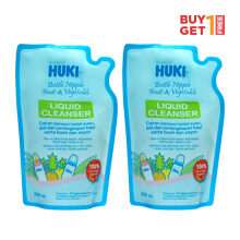 (DISCONTINUE) BABY HUKI Liquid Cleanser Pouch 200 ml (1 Order = 2 Pcs)