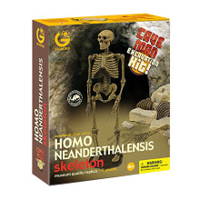 GEOWORLD Cave Man Monsters Excavation Kit - Homo Neanderthalensis