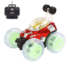BESSKY 360° Spinning And Flips With Color Flash & Music For Kids Remote Control Truck_
