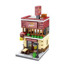 SEMBO BLOCK Pizza Store SD6019