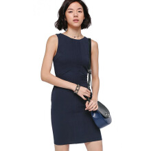 LOVE, BONITO Laronda Panel Dress - Navy