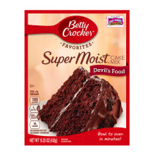 BETTY CROCKER Supermoist Devil Food 432g
