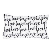GLERRY HOME DECOR Love Letter Cushion Cover - 30x50Cm