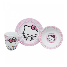TECHNOPLAST Hello Kitty Porcelain Tableware