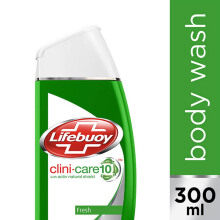 LIFEBUOY Body Wash Clini-shield10 Fresh 300ml