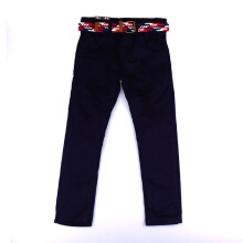 KIDDIEWEAR Khaki Pants Navy with Belt 1KB7474
