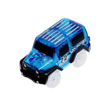 Electric LED Race Car Toy for Gleamy Tracks Toys Set