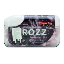 FROZZ Permen Rasa Blueberry Mint 15g