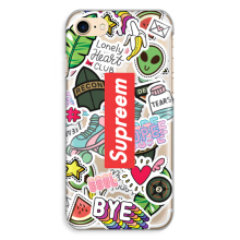 CASETOMIZE Classic Hard Case for Apple iPhone 8 Plus - Supreem Sticker