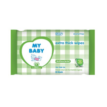 MY BABY Extra Thick Wipes Antibacterial - 50 Sheet
