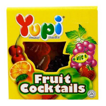 YUPI Fruit Cocktails Display 24gr x 24pcs