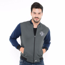 D&F CVC Jacket 011037006- Grey