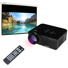 mini LED Projector Home Theatre cinema Black