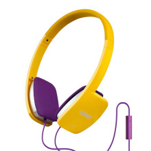 EDIFIER H640P Headphones Hi-Fi with Mic - Yellow
