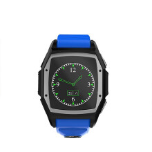 BESSKY GT68 Bluetooth Smart Watch Sports Phone Watch Heart Rate SOS GPS _ Blue
