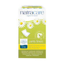 NATRACARE Panty liner Long Wrapped (NEW) 16's