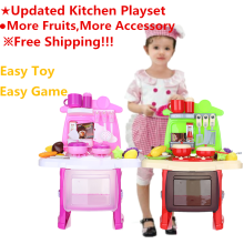 ranxian Luxury Simulation Kitchen Cooking Tools Kit for Kids