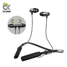 KYM KDK05 Earphone Newest Sport Bluetooth Headset In Ear Bluetooth Ear Phones Neckband Stereo Headphones For Phone Android