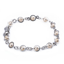 1901 JEWELRY Gelang Pearl Silver 382