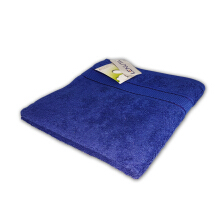 LENUTA Travel Towel Fresia Silver - Shocking Blue ( 50x100cm )