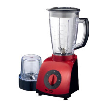 TECSTAR Blender with Wet and Dry Mill - TB-808 LE - Merah/Hitam