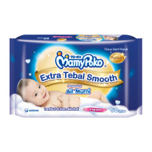MAMYPOKO Baby Wipes Extra Smooth Perfumed - 50