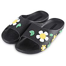 Floral Printed Open Toe Ladies Non-slip Slippers
