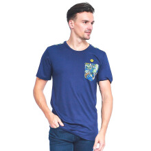 ALINSKIE BROTHERS Classic Mens T-Shirt Azura  A1022 - Navy