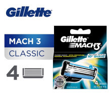 GILLETTE Mach3 Cartridge 4pcs