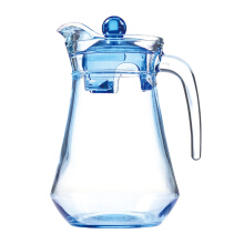 LUMINARC Pitcher Arc Ice Blue Jug + Lid L0530 / L0275 1.3L  - Blue