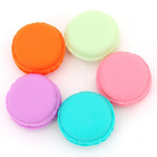 BESSKY 6 PCS Mini Earphone SD Card Macarons Bag Storage Box Case Carrying Pouch_ Multicolor