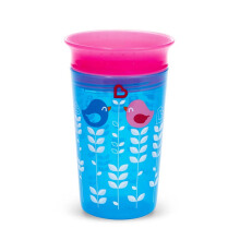 MUNCHKIN 9oz Deco Miracle Sippy Cup - Blue Bird