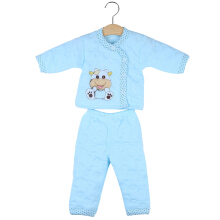 2pcs Newborn Babies Clothing Set  Cotton Long Sleeve Paded