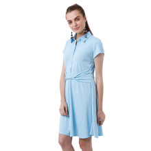 ALERA Official Felia Twist Dress - Blue [All Size]