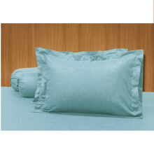 ELEGANCE Sprei Set Light Blue / 180 x200