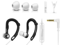 Philips SHQ3305 ActionFit Sports headphones with mic - Hitam