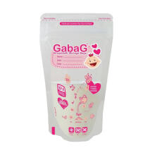 (DISCONTINUE) GABAG Breastmilk Storage Bag Pink 100ml