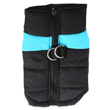 Fashionable Zipper Design Pet Dog Waterproof Warm Vest Jacket