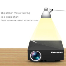 Excelvan GM60A Home projector Black