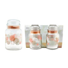 GURALLAR Jar Large Blossom Spree Set Of 2 Window Pack 890ml