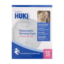 BABY HUKI Nursing Pad Travel Pack Isi - 12
