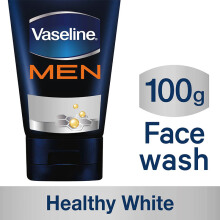 VASELINE Men Face Healthy White Face Wash 100g