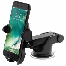 Keymao Holder with One Touch 2 Car Mount for iPhone Samsung Galaxy Black