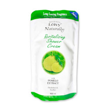 LEIVY Pomelo Shower Cream 900ml (Refill)