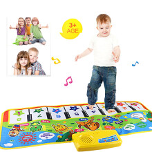 BESSKY Touch Play Keyboard Musical Carpet Mat - Green