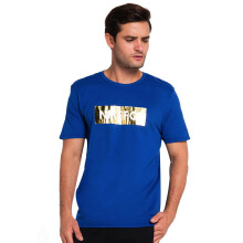 NIKE As M Fc Tee Foil - Gym Blue/White