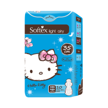 SOFTEX Hello Kitty Light Airy 35cm 10s